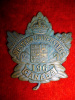 196th Battalion (Western Universities) Cap Badge